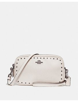 Crossbody Clutch With Rivets by Coach