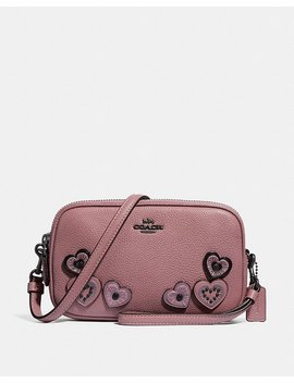 Crossbody Clutch With Hearts by Coach