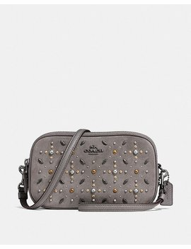 Crossbody Clutch With Prairie Rivets by Coach