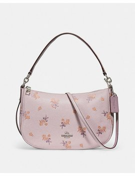 Chelsea Crossbody With Floral Bow Print by Coach