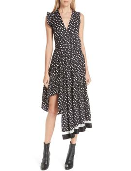 Floral Print Silk Midi Dress by 3.1 Phillip Lim
