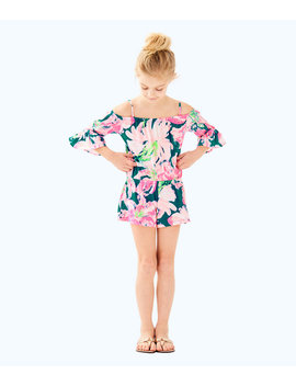 Girls Mini Calla Romper by Lilly Pulitzer