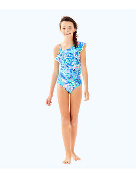Upf 50+ Girls Joni Swimsuit by Lilly Pulitzer