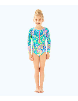 Upf 50+ Girls Alaina Swimsuit by Lilly Pulitzer