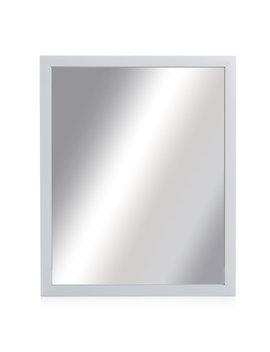 Wilko White Frame Mirror by Wilko