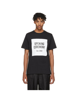 Black Limited Edition Logo T Shirt by Opening Ceremony