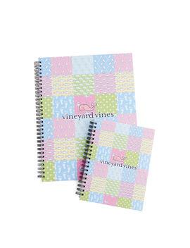 Patchwork Notebook Set by Vineyard Vines
