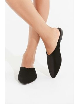 Uo Pointed Velvet Mule by Urban Outfitters