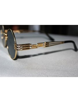 Sunglasses Desing Jean Paul Gaultier Sonnenbrille Vintage Gold by Vintage Style Fashion