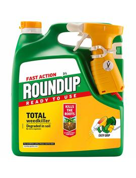 Evergreen Garden Care Ltd Roundup Fast Action Weedkiller Spray (Ready To Use), 3 L by Amazon