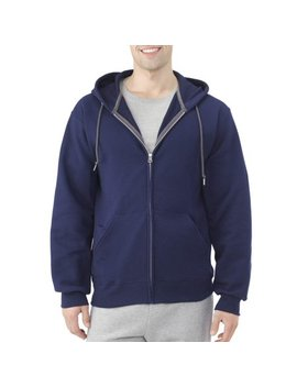 Men's Dual Defense Fleece Full Zip Hooded Sweatshirt by Fruit Of The Loom