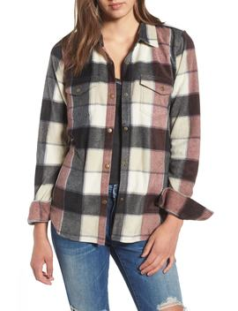Zuma Plaid Fleece Flannel Shirt by O'neill