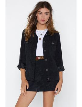 All A Cord Jacket by Nasty Gal