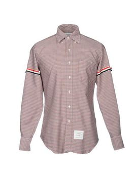 Thom Browne Checked Shirt   Shirts U by Thom Browne