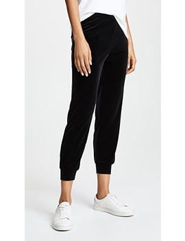 Velour Joggers by Only Hearts