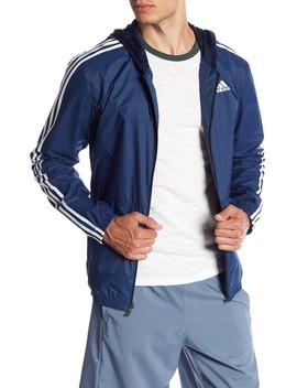 Athletic Windbreaker Jacket by Adidas