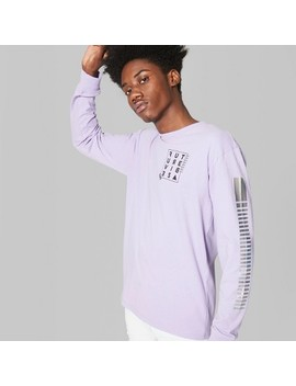 Men's Long Sleeve Graphic T Shirt   Original Use™ Violet by Shop All Original Use™