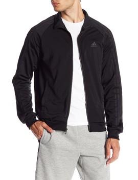 Essential 3 Stripe Track Jacket by Adidas