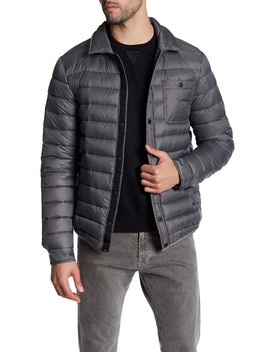 Liam Light Feather Down Jacket by Slate & Stone