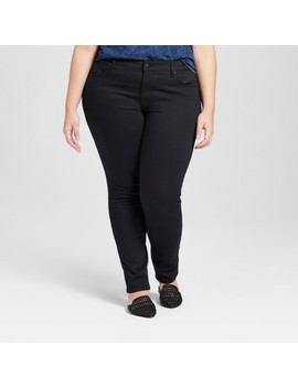 Women's Plus Size Skinny Jeans   Universal Thread™ Black by Shop All Universal Thread™