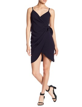 Front Wrap Side Tie Dress by Love...Ady