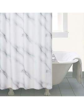 Marble Shower Curtain by Dunelm