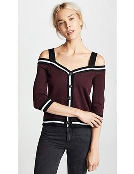 Swipe Right Off Shoulder Sweater by Bb Dakota