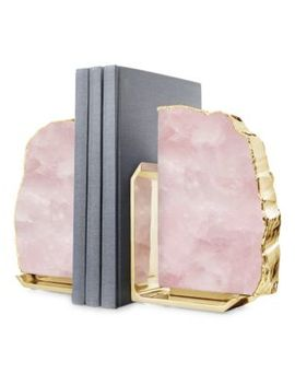 Fim Quartz Bookends by Anna By Rab Labs
