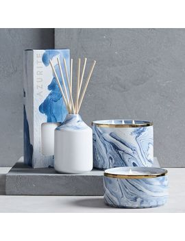 Marbled Homescent Collection   Navy by West Elm