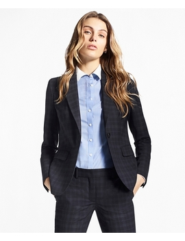 Plaid Brooks Cool® Merino Wool Jacket by Brooks Brothers