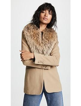Crosby Wool Coat by Sam.
