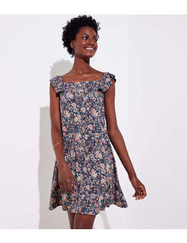 Rose Garden Flutter Swing Dress by Loft