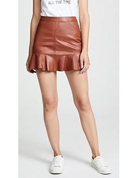 Veni Vidi Vici Vegan Leather Miniskirt by Bb Dakota