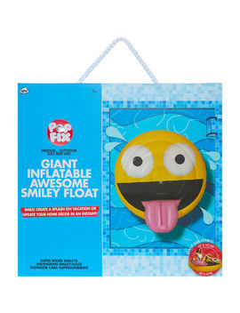 Yellow Emoji Float by Pop Fix