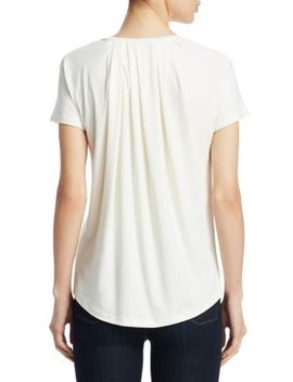 Cinch Back Tee by Theory