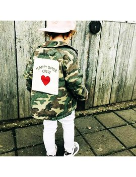 Yorkzaler Baby Girls Boys Jacket Cardigan 2017 Fashion Spring Autumn Camouflage Coats Army Children's Windbreaker Outerwear  by Yorkzaler
