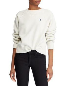 Raglan Sleeve Fleece Pullover by Polo Ralph Lauren