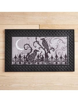 Black Ravens Led Light Up Musical Doormat by Midnight Carnival Collection