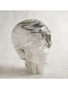 Marbled Glass Skull by Celestial Enchantment Collection
