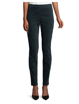 High Waist Skinny Leg Oslo Corduroy Leggings by Theory