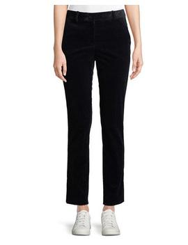 Slim Straight Leg Modern Corduroy Trousers by Theory