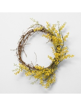 Faux Crespedia Wreath   Hearth & Hand™ With Magnolia by Shop All Hearth & Hand™ With Magnolia