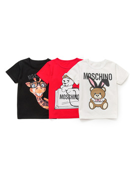 Boys T Shirt 100 Percents Cotton Girls Short Sleeve Shirts For Children Clothing Cartoon Image Kids T Shirt Enfant Garcon Baby Clothes by Facejoyous