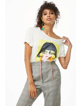 Nice Graphic Tee by Forever 21