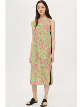 **Daisy Knot Front Dress By Boutique by Topshop