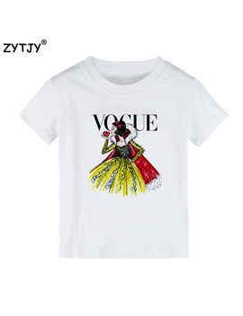 Tattoo Vogue Princess Print Kids T Shirt Boy Girl Shirt Casual Children Toddler Clothes Funny Top Tees Drop Ship Z 3 by Zytjy