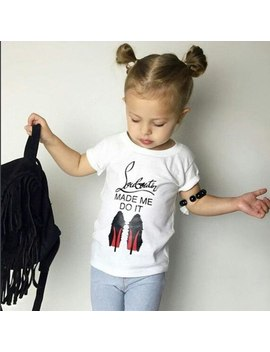 2018 Fashion Cotton Summer Girls T Shirts With Letter Print Children Clothes Girl Short Sleeves Tshirts Kids Brand Tee Tops by Jx·Ysy