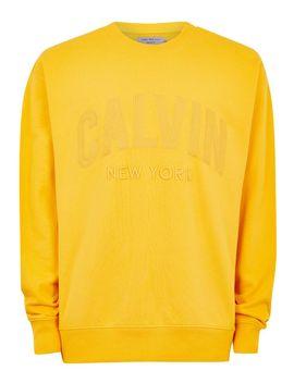 Calvin Klein Yellow Sweatshirt by Topman