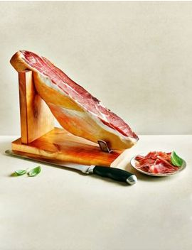 Serrano Ham Joint With Knife & Stand (Serves Approx. 50) by Marks & Spencer