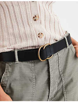 Aeo Double Ring Basic Belt by American Eagle Outfitters